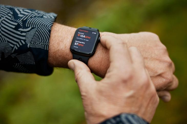 Apple watch save yet another life