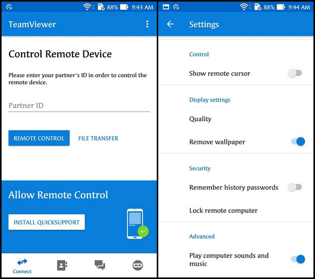 TeamViewer Best Apps to Control Windows PC With Android Device