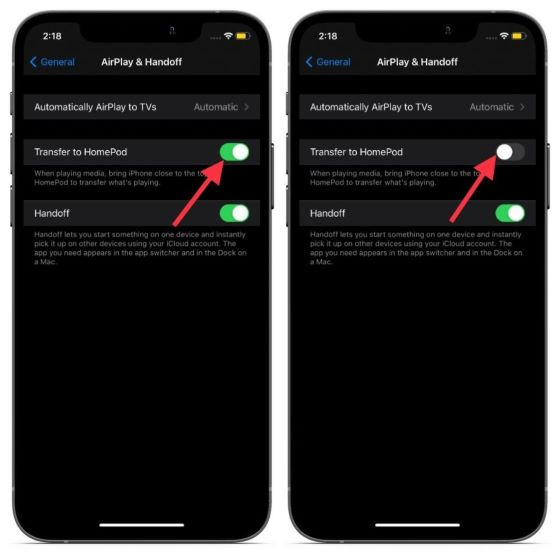 Disable Proximity alerts on iPhone
