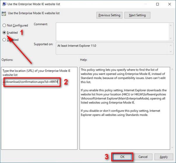 Enable IE Mode on Microsoft Edge Chromium