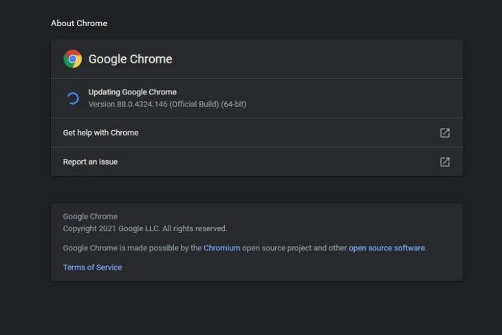 Chrome 88 update patches zero-day bug