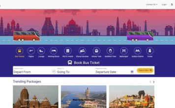 IRCTC Launches Online Bus Booking Services