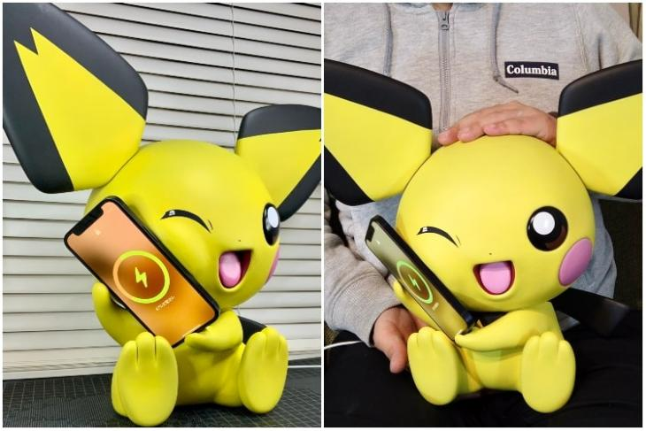 Magsafe enabled Pichu charging dock