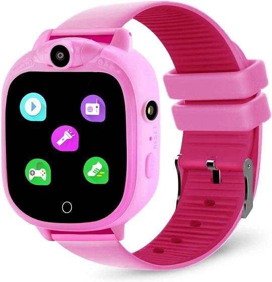 Prograce Kids Smart Watch with 90°Rotatable Camera Smartwatch