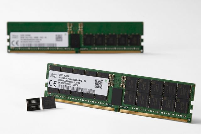 SK Hynix DDR5 DRAM / Image Courtesy: SK Hynix