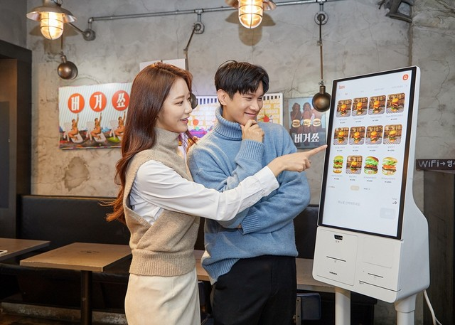 Samsung Kiosk launched in Korea
