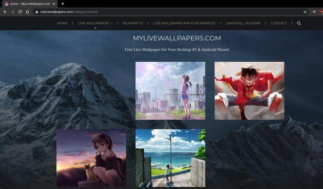 anime live wallpapers