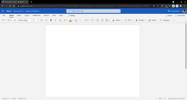 2. Microsoft Word 365