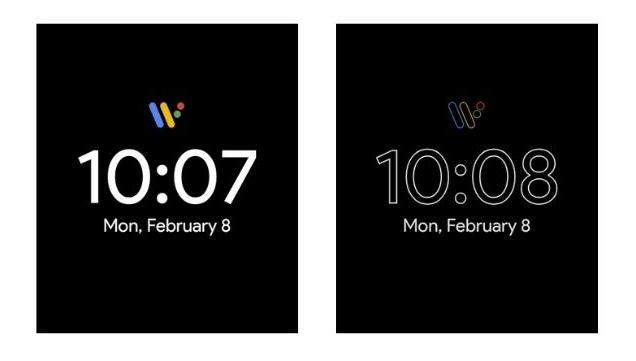 1. Pixel Minimal Watch Face