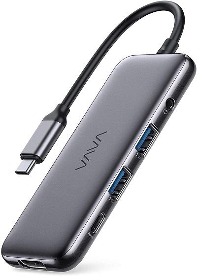 VAVA USB-C Hub, 8-in-1 USB-C Adaptor,
