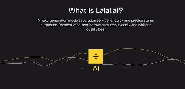 What is Lalal.ai?