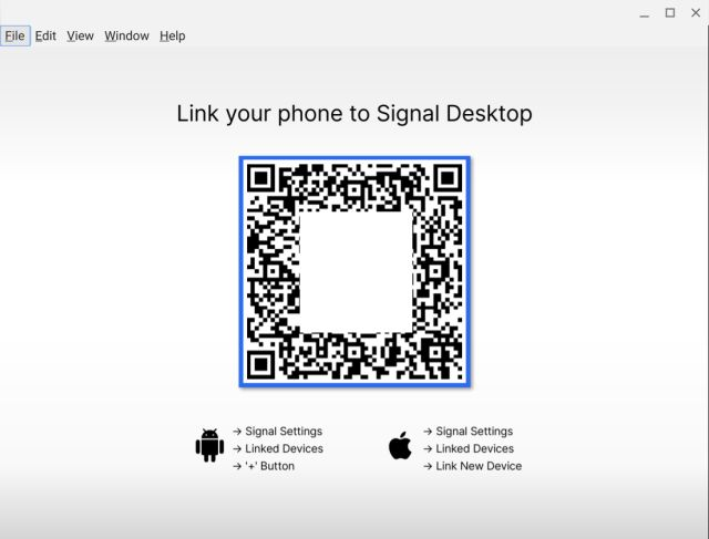 link signal to smartphone