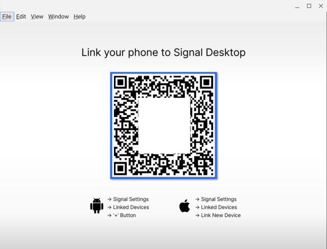 сигнал связи со смартфоном