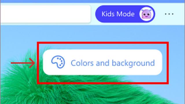 change kids mode theme