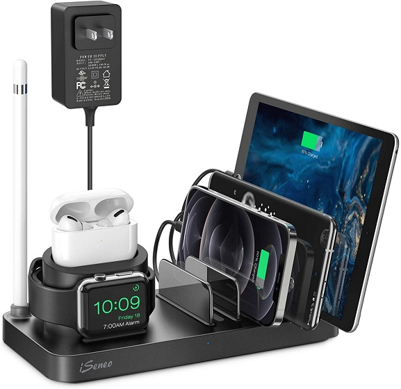 iSeneo Charging Station for Multiple Devices,
