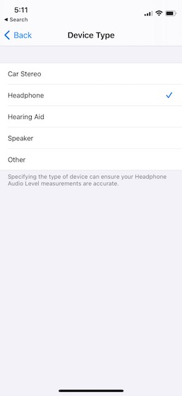 lable bluetooth devices on iPhone 5
