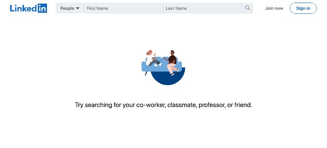 linkedin find people professionals