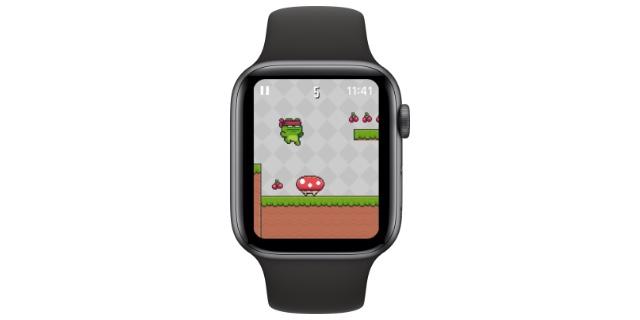 retro twist apple watch games