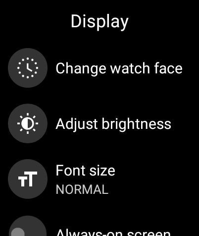 Customize the Watch Face on Wear OS (2021)