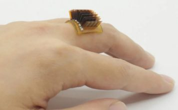 wearable device uses body heat to charge devices