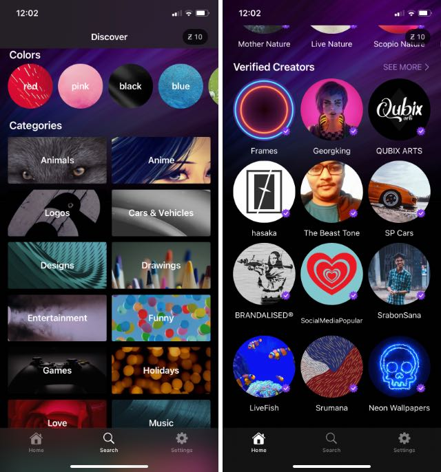 zedge wallpapers for iphone