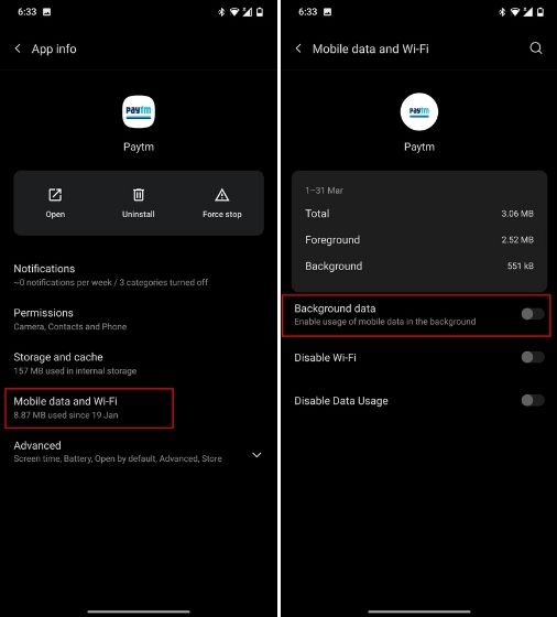 Prevent Android Apps From Using Data in The Background (2021)