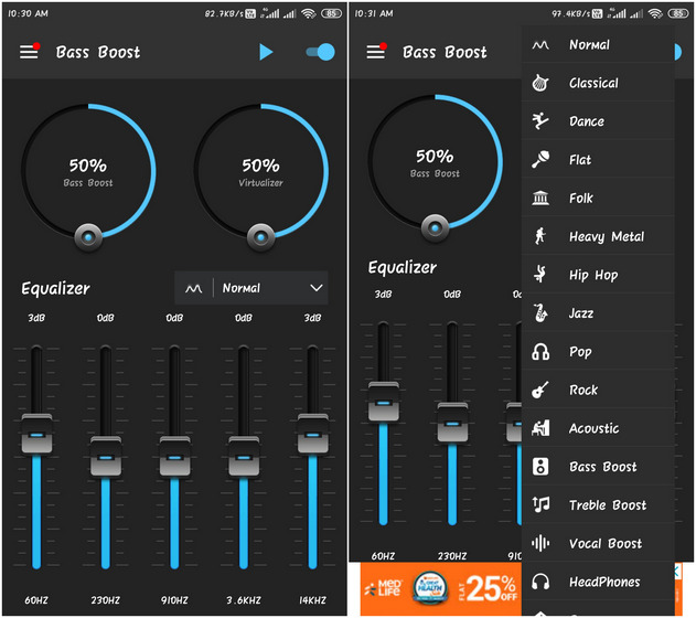 Bass Booster & Equalizer Best Bass Booster and Equalizer Apps on Android