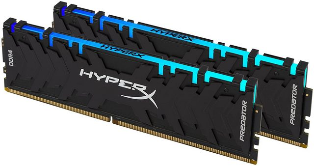 Kingston HyperX Predator DDR4 gaming ram