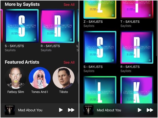 Apple Music Saylists help users speech sound disorders