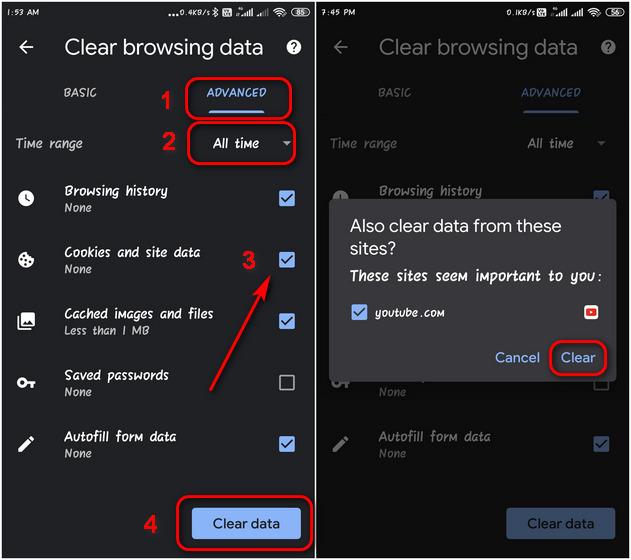Löschen und Deaktivieren von Cookies in Google Chrome unter Android und Windows