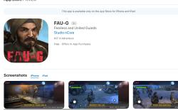 FAU-G is now available on iOS