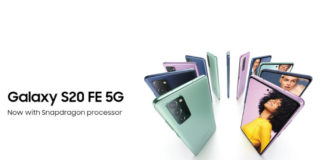 Galaxy S20 FE Coming to India on March 30