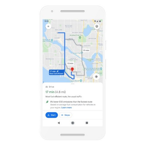 Google Maps new features ss
