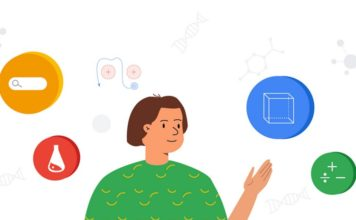Google Search educational features