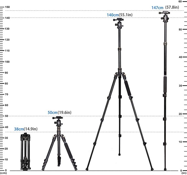 Gwnnsh tripod - Best Sony a7R III and a7 III Accessories
