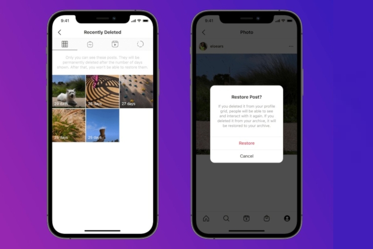 How to Restore Deleted Posts on Instagram
