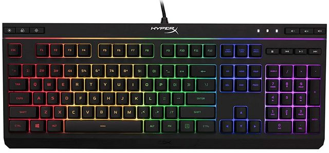 HyperX Alloy HX-KB5ME2 Best membrane Keyboard for gaming