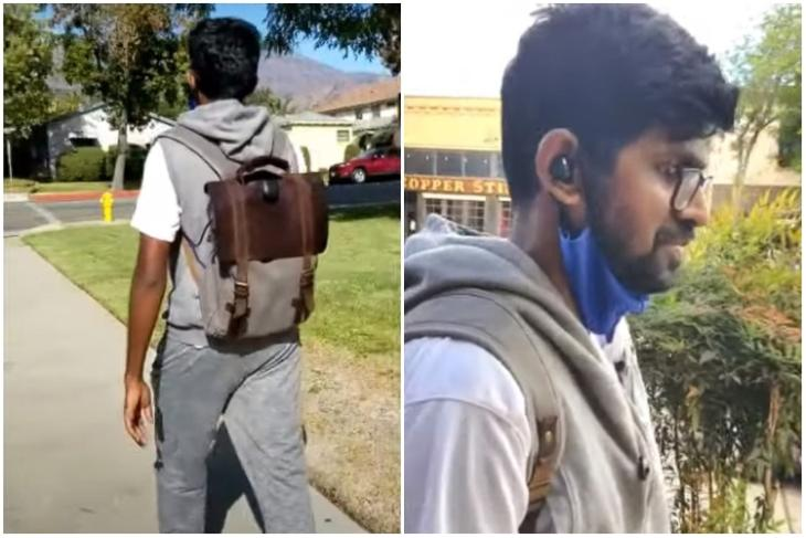 Indian develops ai backpack for blind