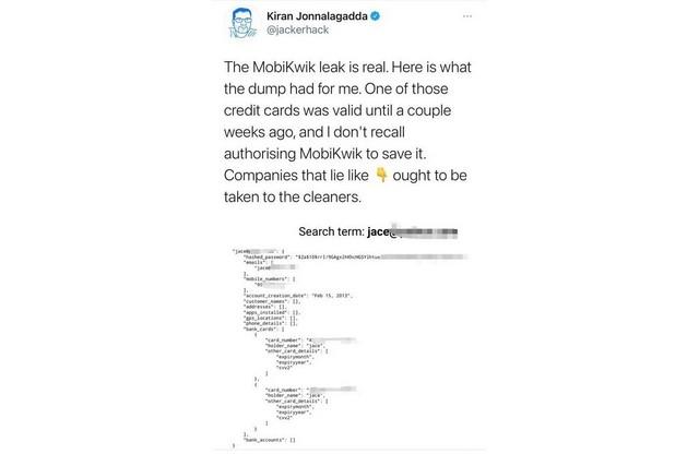Mobikwik largest KYC data leak