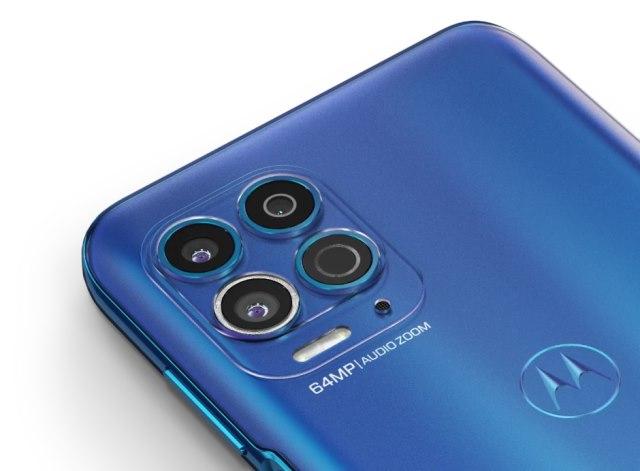 Moto G100 cameras