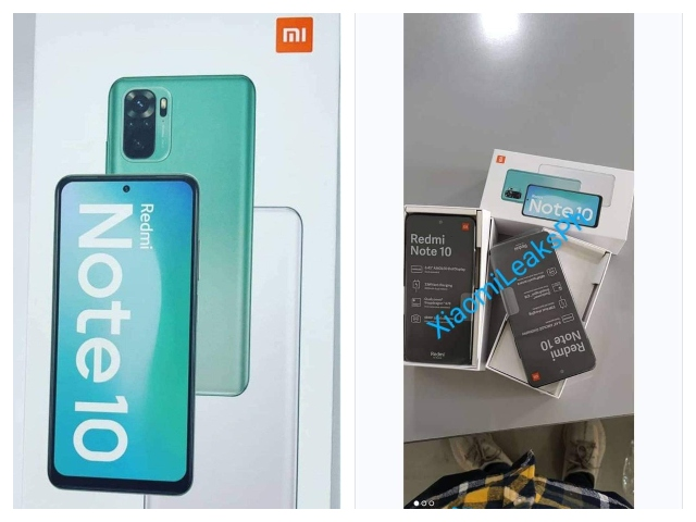 Redmi Note 10 image surface online