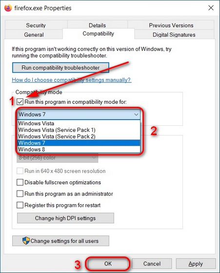 Run Old Apps in Windows 10 Using Compatibility Mode
