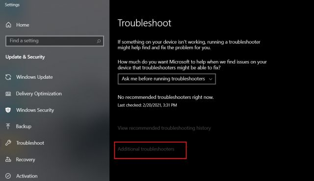 Fix Network Connection Issues on Windows 10 (2021)