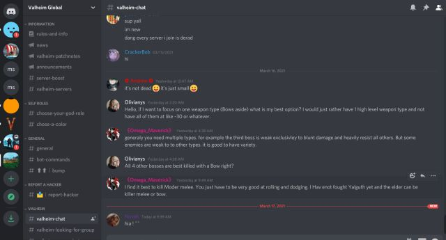 Best Discord Servers for Valheim (2021)