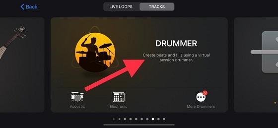 Select drum
