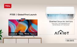 TCL P725 TV Ocarina Smart AC India Launch