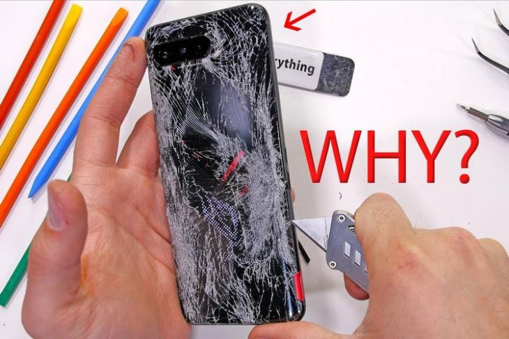 This Is Why ROG Phone 5 Failed the Durability Test