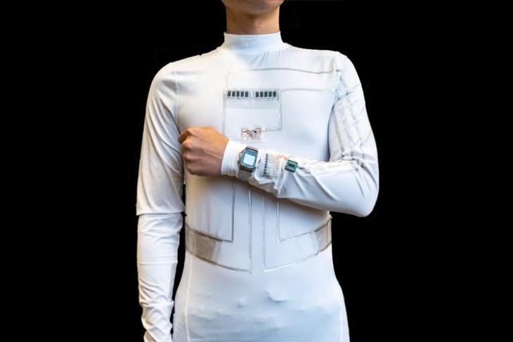 Wearable microgrid generate electricity from human body