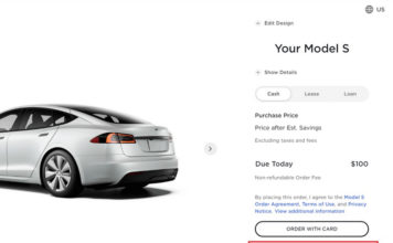 buy tesla with bitcoin