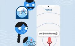 flipkart voice search support in english and hindi